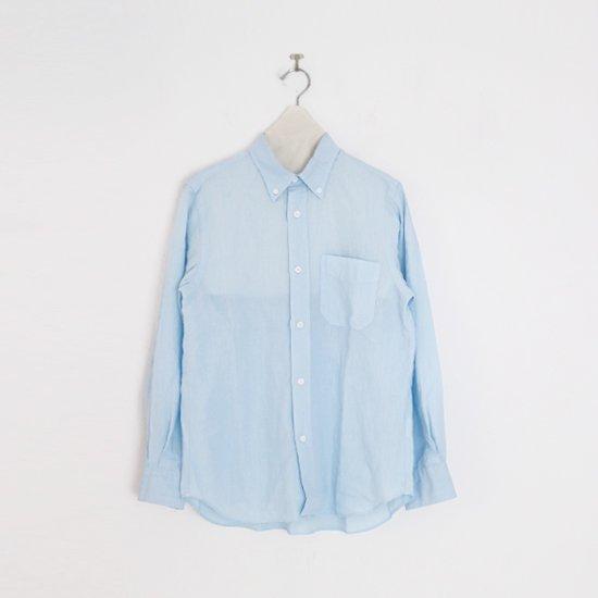 Charpentier de Vaisseau   リネンシャツ〈 Sant 〉Light Blue   C003211TS428