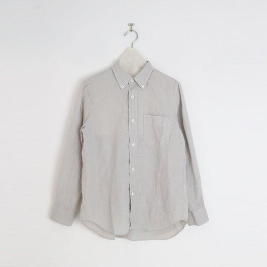 Charpentier de Vaisseau   リネンシャツ〈 Sant 〉Light Grey   C003211TS428