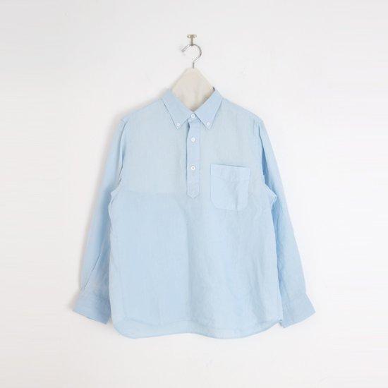 Charpentier de Vaisseau   リネンプルオーバーシャツ〈 Steven 〉Light Blue   C003211TS429