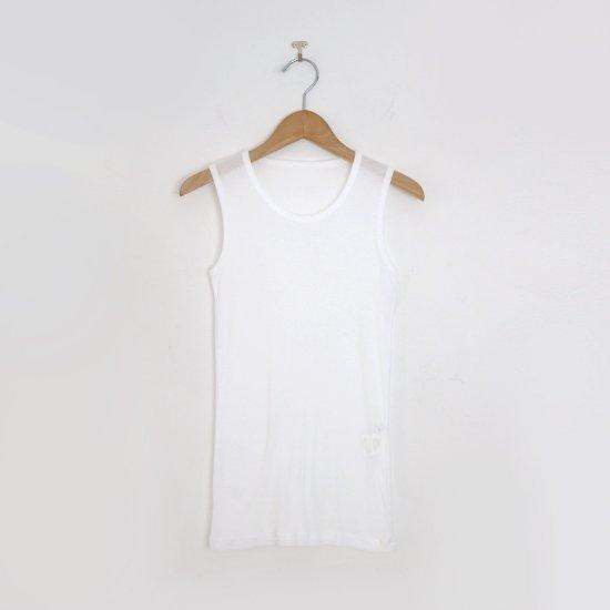 ゴーシュ | 80/1コットンフライスノースリーブ White | F019211TT444