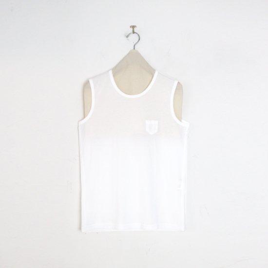 ゴーシュ | 100/2ノースリーブカットソー White | F019211TT455