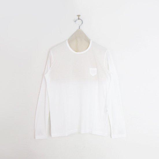 ゴーシュ | 100/2クルーネックカットソー White | F019211TT456