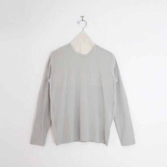 ゴーシュ | 100/2クルーネックカットソー Light Grey | F019211TT456
