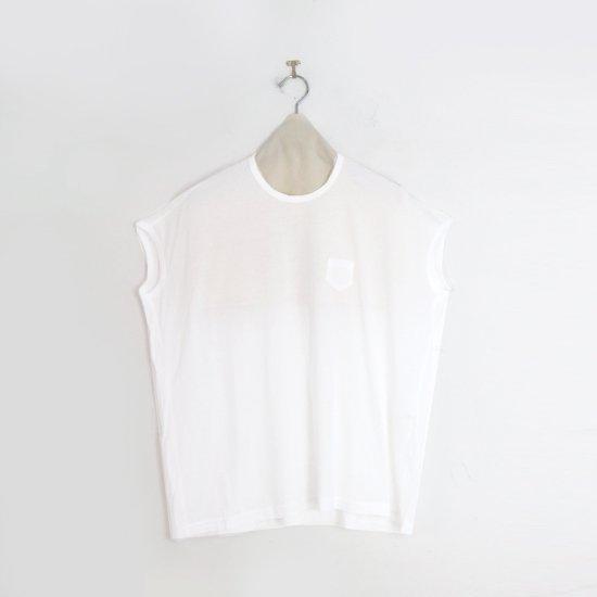 ゴーシュ | 100/2ワイドフレンチスリーブカットソー White | F019211TT457