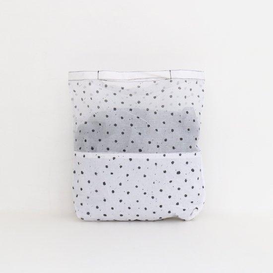 Khadi and Co.   マーケットバッグ 〈 VICHY 〉White × Black   D012191BB258