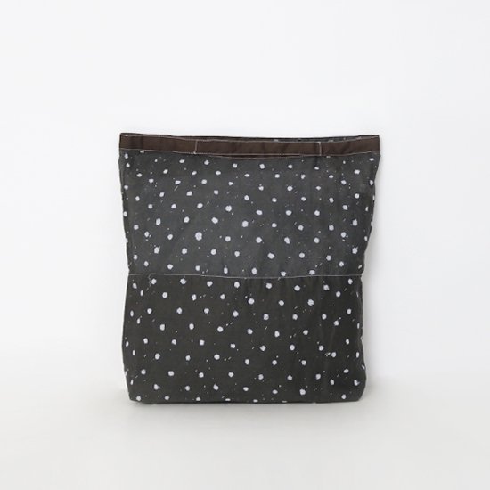 Khadi and Co.   マーケットバッグ 〈 VICHY 〉Black × White   D012191BB258