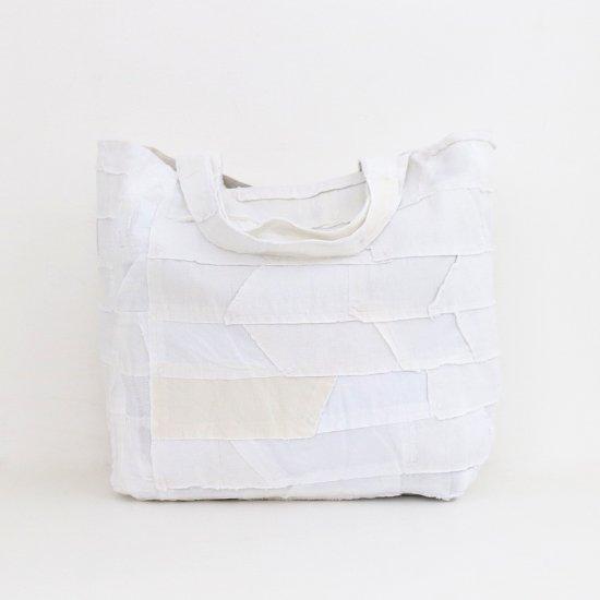 Khadi and Co.   パッチワークバッグ〈 NEROLI 〉White   D012191BB307