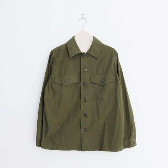 Yaeca   レディースベイカーシャツ Olive   F052211TS158