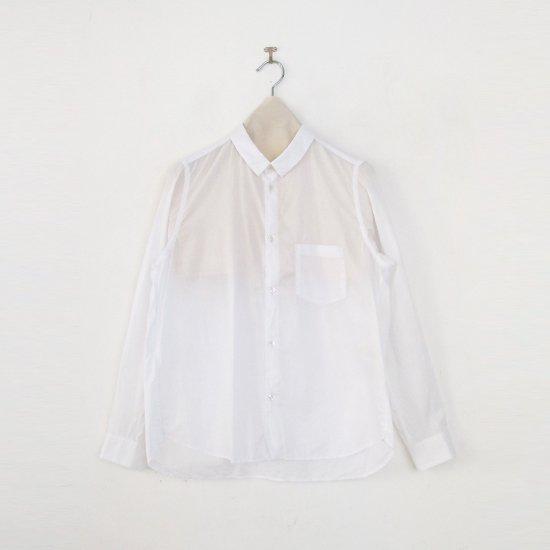 <img class='new_mark_img1' src='https://img.shop-pro.jp/img/new/icons3.gif' style='border:none;display:inline;margin:0px;padding:0px;width:auto;' />ゴーシュ | コットンブロードシャツ White | F019211TS454