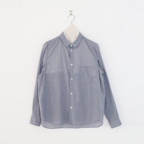 <img class='new_mark_img1' src='https://img.shop-pro.jp/img/new/icons3.gif' style='border:none;display:inline;margin:0px;padding:0px;width:auto;' />ゴーシュ | コットンブロードシャツ White × Navy Check | F019211TS454