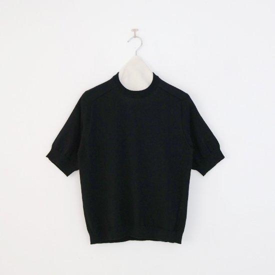 Charpentier de Vaisseau   ギザコットンニット〈 Klim 〉Black   C003211TK466