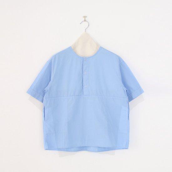 Charpentier de Vaisseau   3リングボタンシャツ〈 Selma 〉Light Blue   C003211TS432