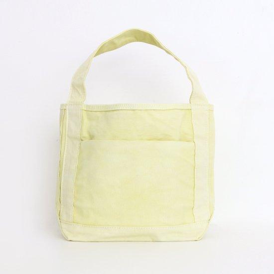 <img class='new_mark_img1' src='https://img.shop-pro.jp/img/new/icons3.gif' style='border:none;display:inline;margin:0px;padding:0px;width:auto;' />Tembea x haus | ミディアムジップトートポケット Yellow(エンジュ染め) | F021211BB430