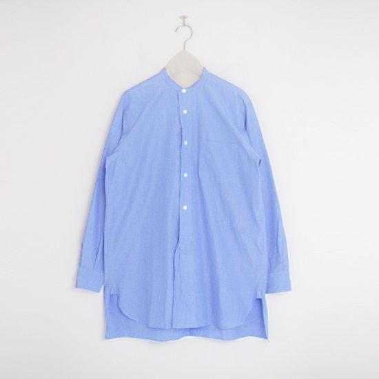 Comoli | バンドカラーシャツ Light Blue | F035212TS157