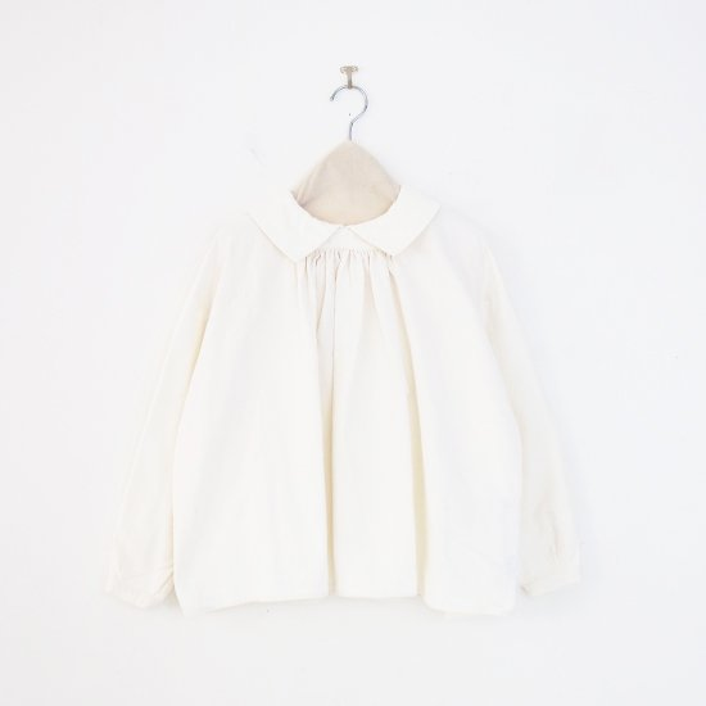 Atelier d'antan | カディコットンブラウス〈 Amiel 〉White | A232212TS525