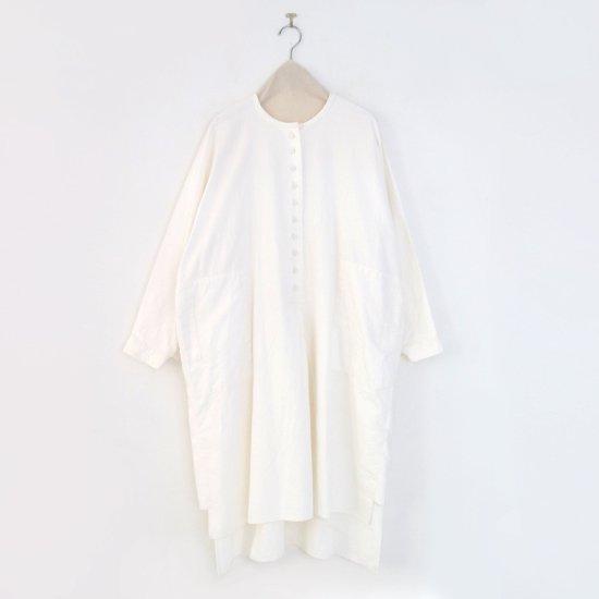 Atelier d'antan | カディコットンロングブラウス〈 Vau 〉White | A232212TS526
