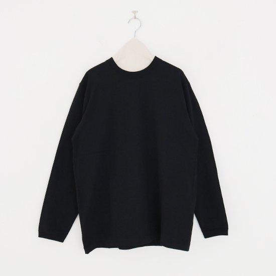 Fit For | ベーシックロングTシャツ Black | F070211TT001