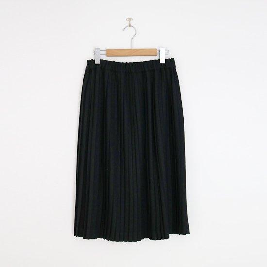 Charpentier de Vaisseau | ミルドサージナロープリーツスカート〈 Brenda 〉Black | C003172PS216