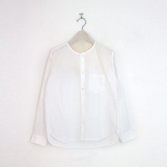ゴーシュ | コットンブロードシャツ White | F019212TS468