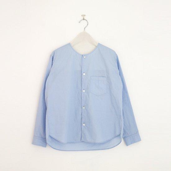ゴーシュ | コットンブロードシャツ Light Blue | F019212TS468