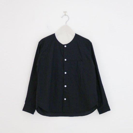 ゴーシュ | コットンブロードシャツ Black | F019212TS468