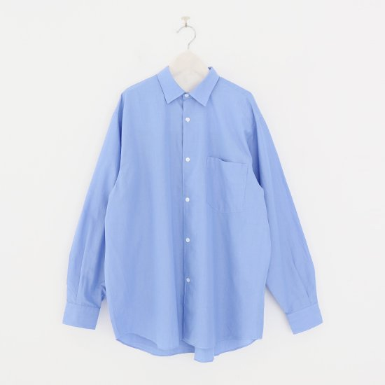 Comoli | コモリシャツ Light Blue | F035212TS156