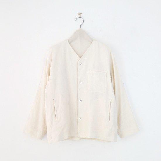 ゴーシュ | リネンウールへリンボンジャケット White | F019212TJ478