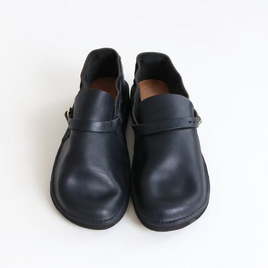 <img class='new_mark_img1' src='https://img.shop-pro.jp/img/new/icons3.gif' style='border:none;display:inline;margin:0px;padding:0px;width:auto;' />Aurora Shoes   ミドルイングリッシュ Men's Black   F002062SS001
