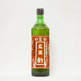 川添酢造  玄米酢  720ml