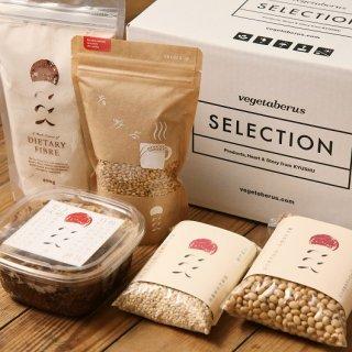 ギフトセット  在来種の麦と大豆 ここくセット