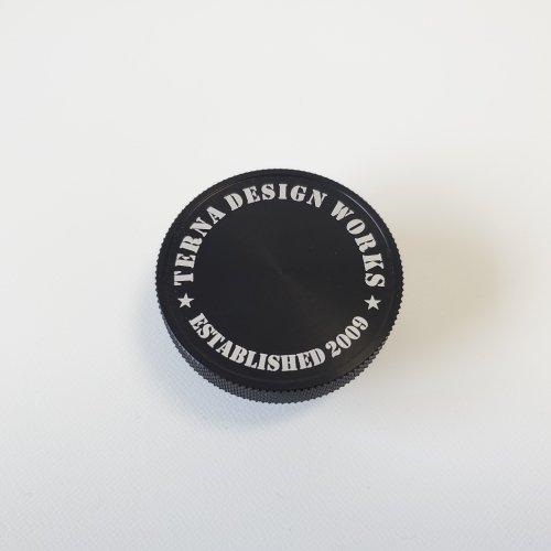 TDW オリジナル ステンシル オイルフィラーキャップ ブラック (マツダ用)