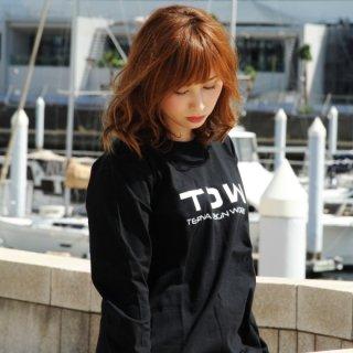 TDW LOGO ロングスリーブTシャツ ブラック