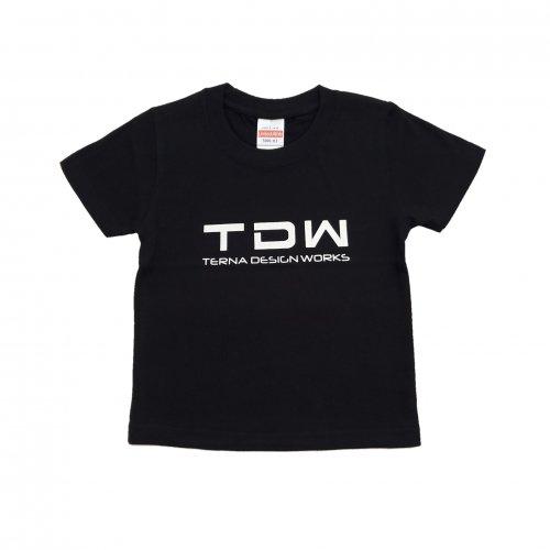 TDW キッズTシャツ ブラック