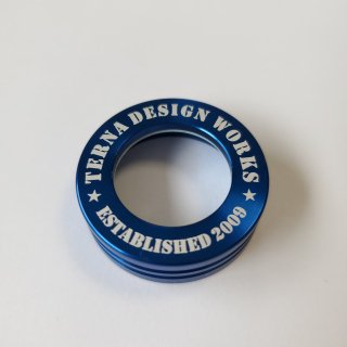 封印リング TDWロゴ ブルー
