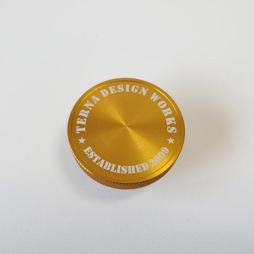 TDW オリジナル ステンシル オイルフィラーキャップ ゴールド (マツダ用)