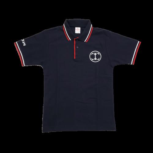 TDW サークルロゴ ドライポロシャツ ネイビー
