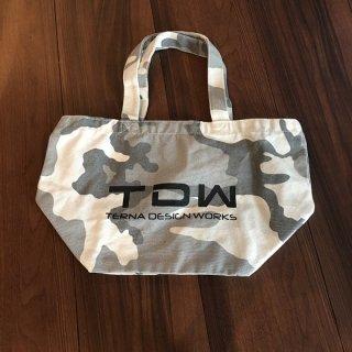 TDW キャンバスバッグ カモフラ ホワイト
