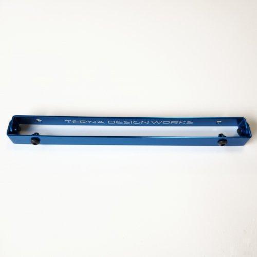 TDW ナンバーステー ピッチ 210mm ブルー