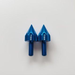 TDW ▲ナンバーボルト15mm REVOLVER 2個 ブルー