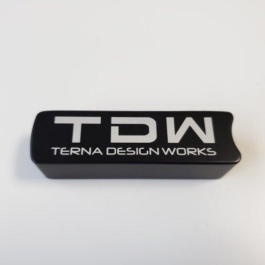 TDW ハイエース専用 サイドブレーキカバー ブラック