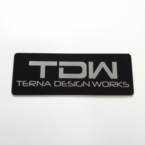 TDW ダッシュボードプレート