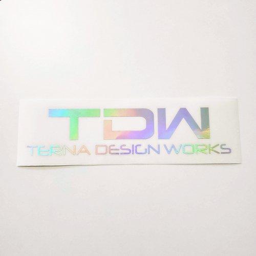 TDW ホログラムステッカー