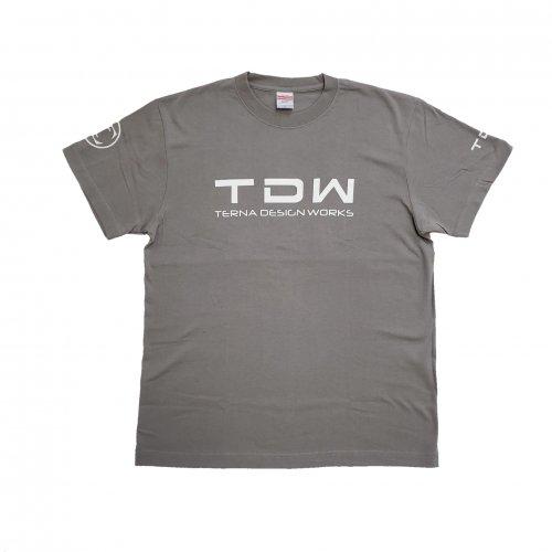 TDW プレミアムTシャツ グレー