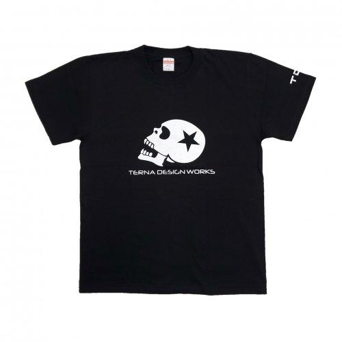 TDW スカルロゴ プレミアムTシャツ ブラック
