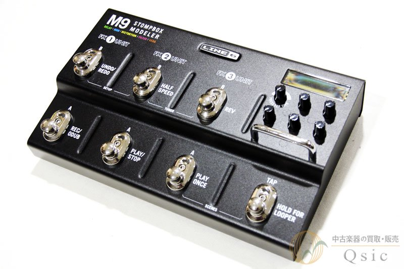 Line6 M9/M-9 Stomp Box Modeler [PE789]