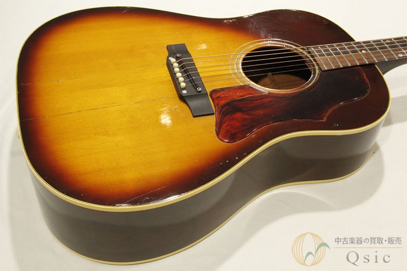 Gibson J-45 Brown Sunburst 1968年製 【返品OK】[VE873]