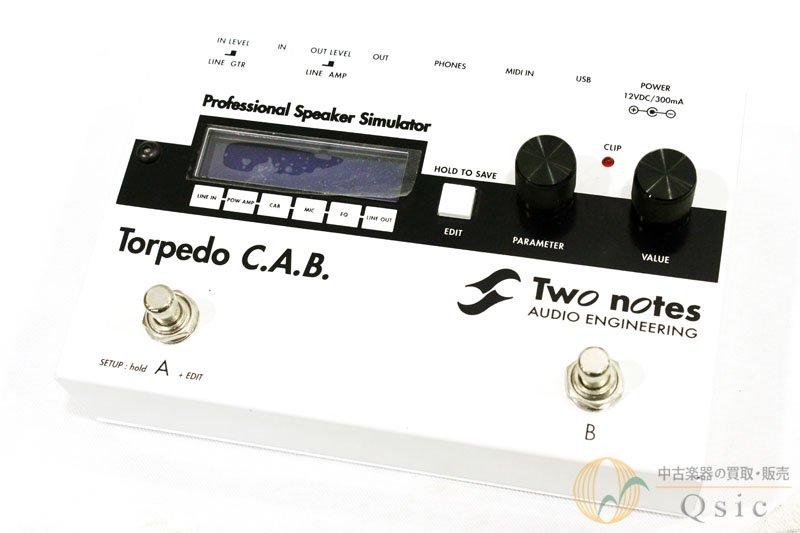 Two Notes Torpedo C.A.B 2010年代年製 [WF206]
