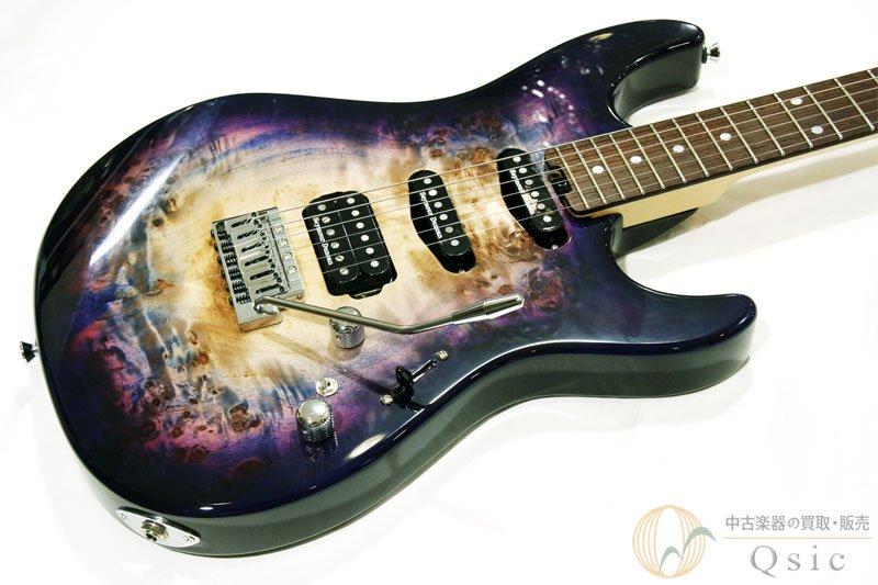 ESP SNAPPER-CTM/R Poplar Burl Nebula Pink Purple Burst 2019年製 【返品OK】[VG735]