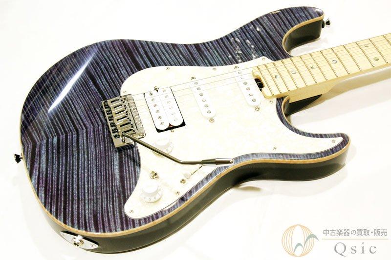 ESP SNAPPER-CTM-FM/M Indigo Purple with/Purple Pearl Black 2020年製 【返品OK】[VG736]