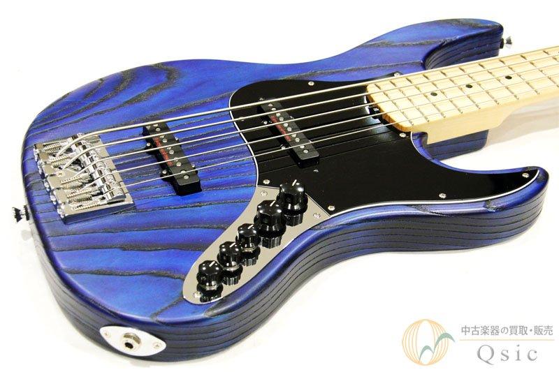 ESP Amaze AS-SL5/M Blue w/Black Filler 【返品OK】[WG692]